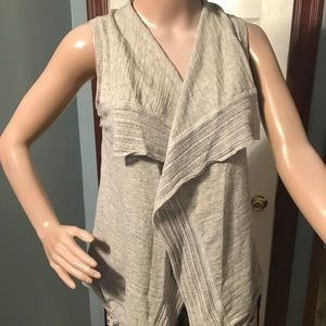 Banana Republic sleeveless/buttonless  sweater